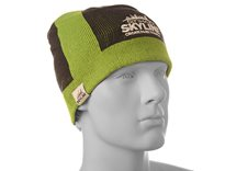 Etihad Skyline Navy & Green Beanie