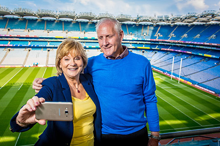 Savvy Seniors head to Croke Park for Bealtaine