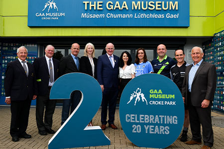 GAA Museum celebrates 20th Birthday  with new exhibition and anniversary programme of events