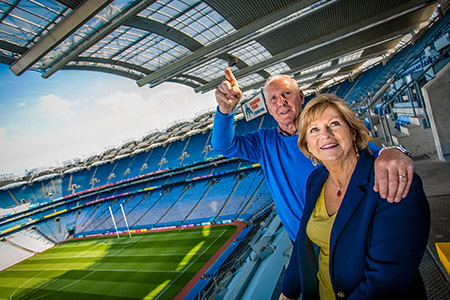 Croke Park cheers on seniors for Positive Ageing Week