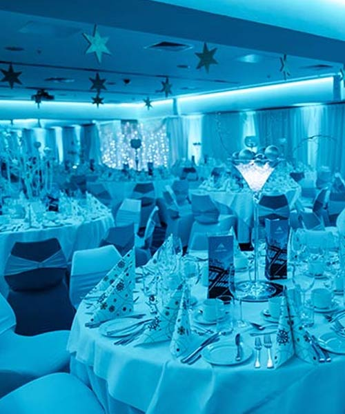<big>Christmas</big><br>Private or Shared Parties<br>and Corporate Events