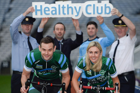 Croke Park Staff cycle from Croke Park to Thurles for charity