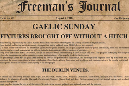 The Events of Gaelic Sunday
