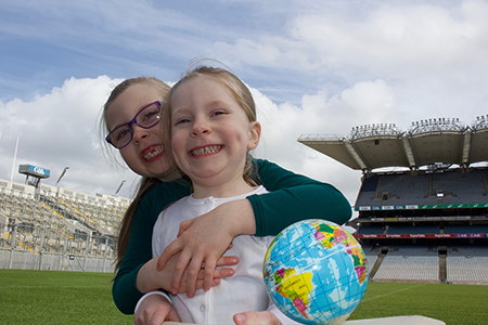 Supporting World Ocean's Day at Croke Park