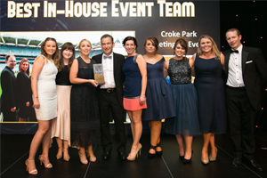 Awards Hat-Trick for Croke Park Meetings & Events