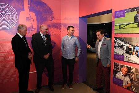 Tuning in – From Wireless to WiFi exhibition opens at the GAA Museum