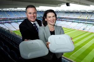 First high density WiFi network deployed in Ireland at Croke Park