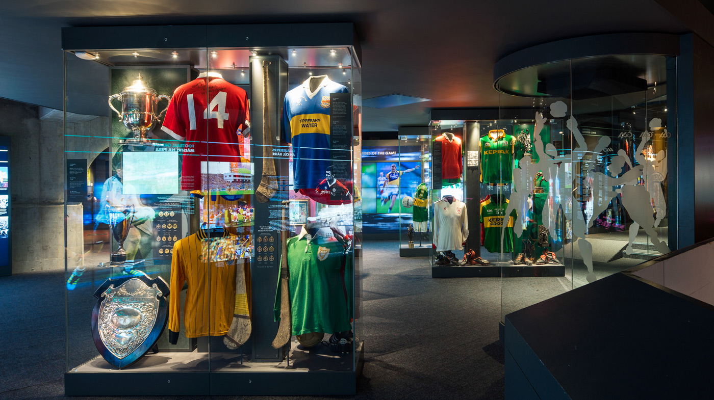 View the interior of the GAA Museum - Croke Park