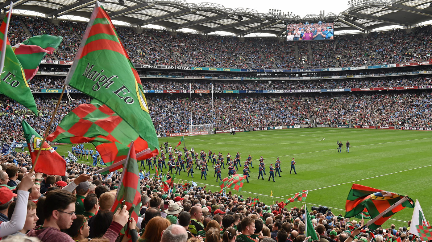 Sport Match at Croke Park Dublin Ireland