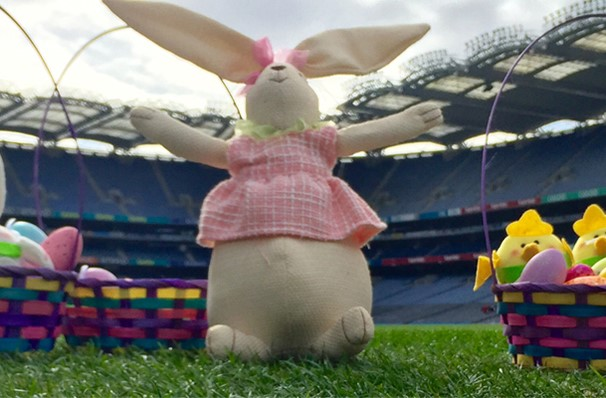 Hunt for Easter Eggs at Croke Park!