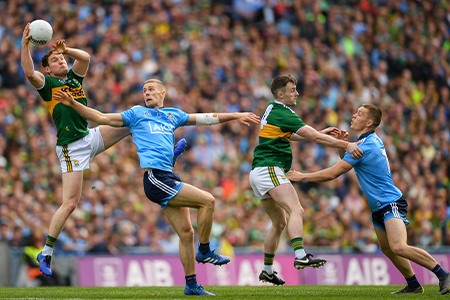 Croke Park ushers in new era with a floodlit battle for age-old rivals