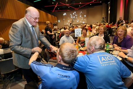 Croke Park's Senior Citizens' Christmas Lunch 2018