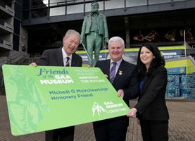 Mícheál Ó Muircheartaigh made honorary 'Friend of the GAA Museum'