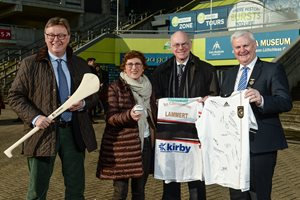 Speaker of the German Bundestag visits Croke Park