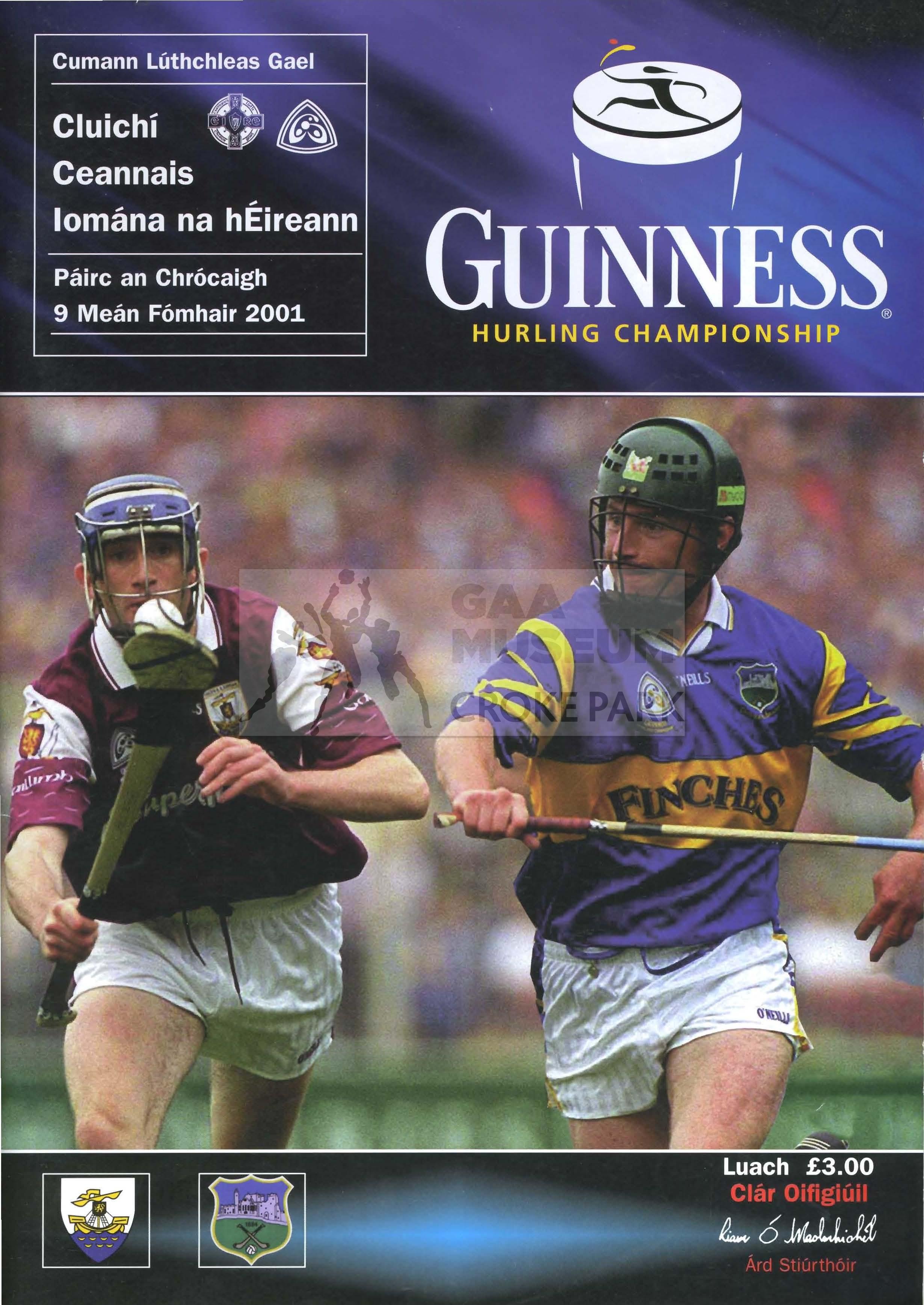 Betting all ireland hurling final 2001 mauro betting le cartable du